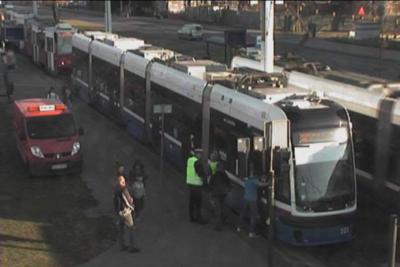awaria tramwaju_ rondo Fordońskie Bydgoszcz - ITS(1)