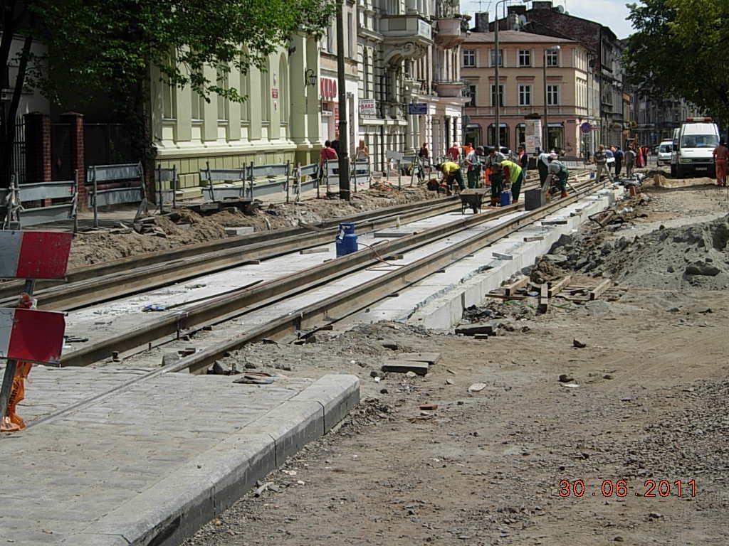 linia na dworzec 5 - SS