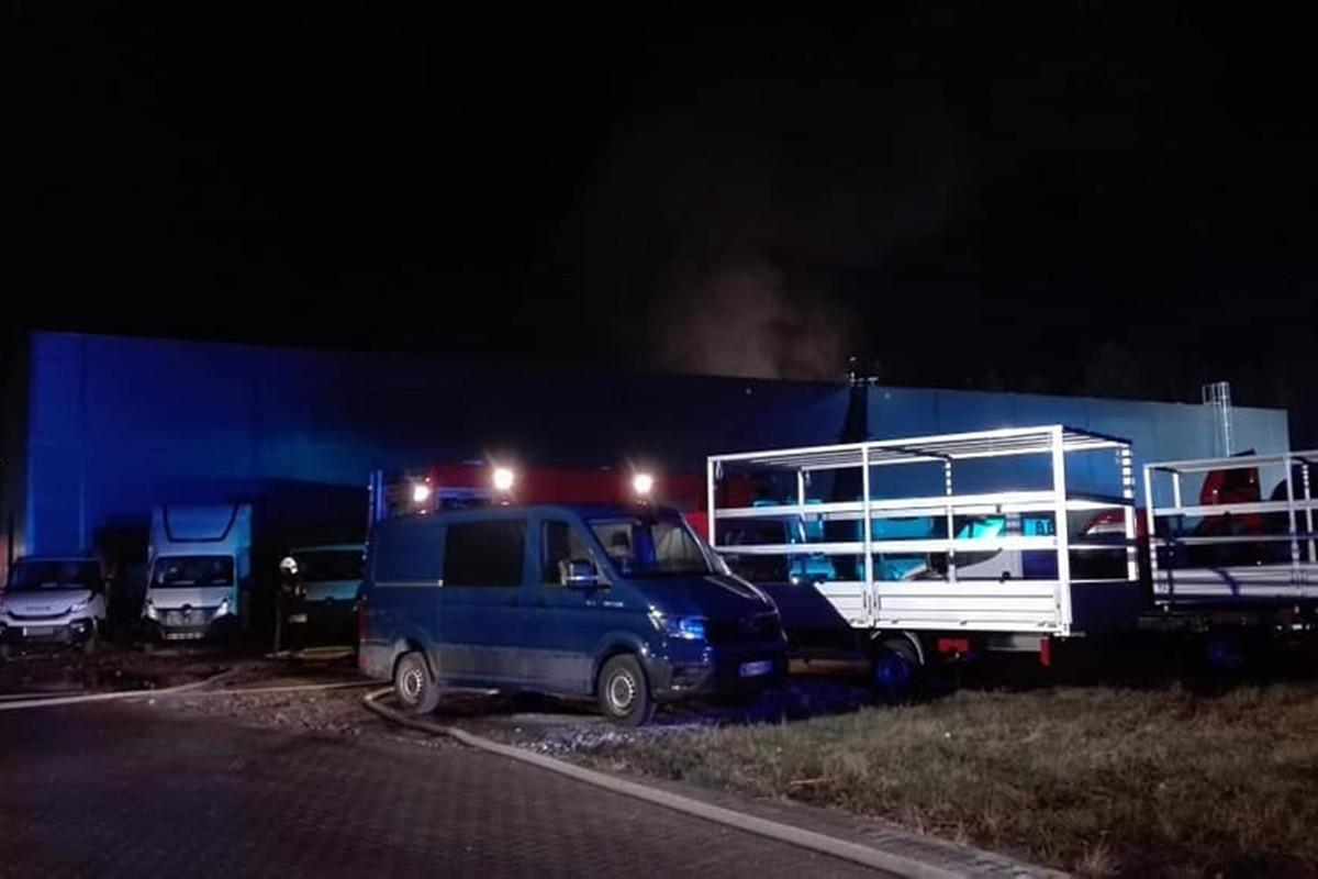 pożar Czarne Błoto_ OSP Papowo Toruńskie-1