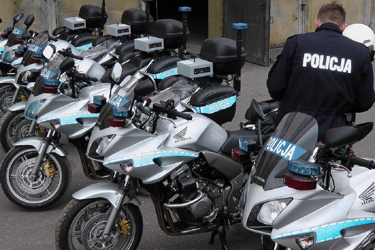 policja motocykle