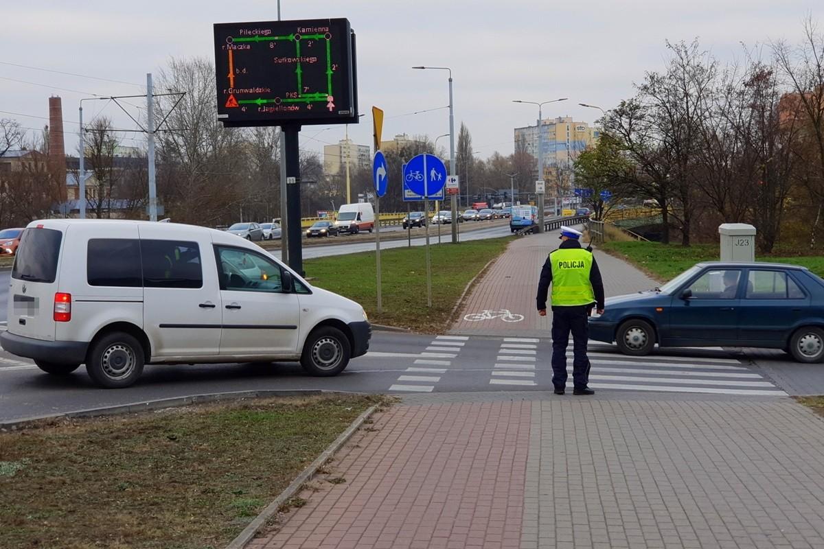 policja, rondo toriuńskie, kontrola - kwp
