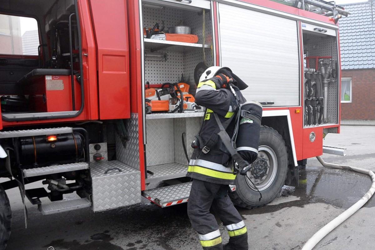 straż pożarna_ na sygnale - Szubin_ MR
