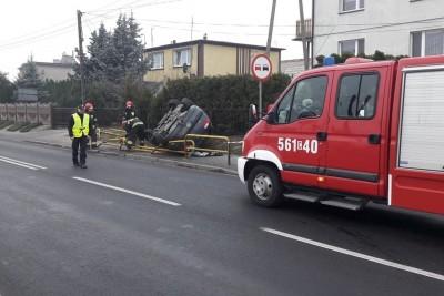wypadek, dk 5, żnin - kpp