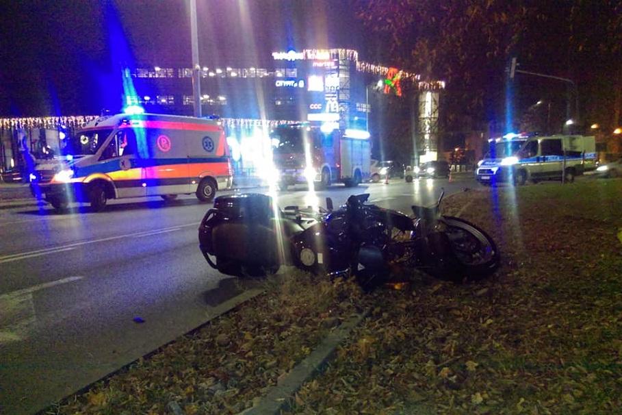 wypadek rondo grunwaldzkie Bydgoszcz