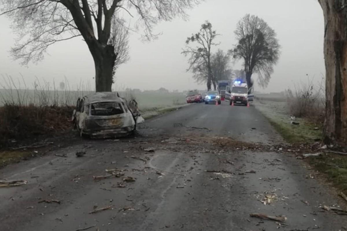 wypadek_ Świerczynki (pow. brodnicki)_ KPP Brodnica (1)