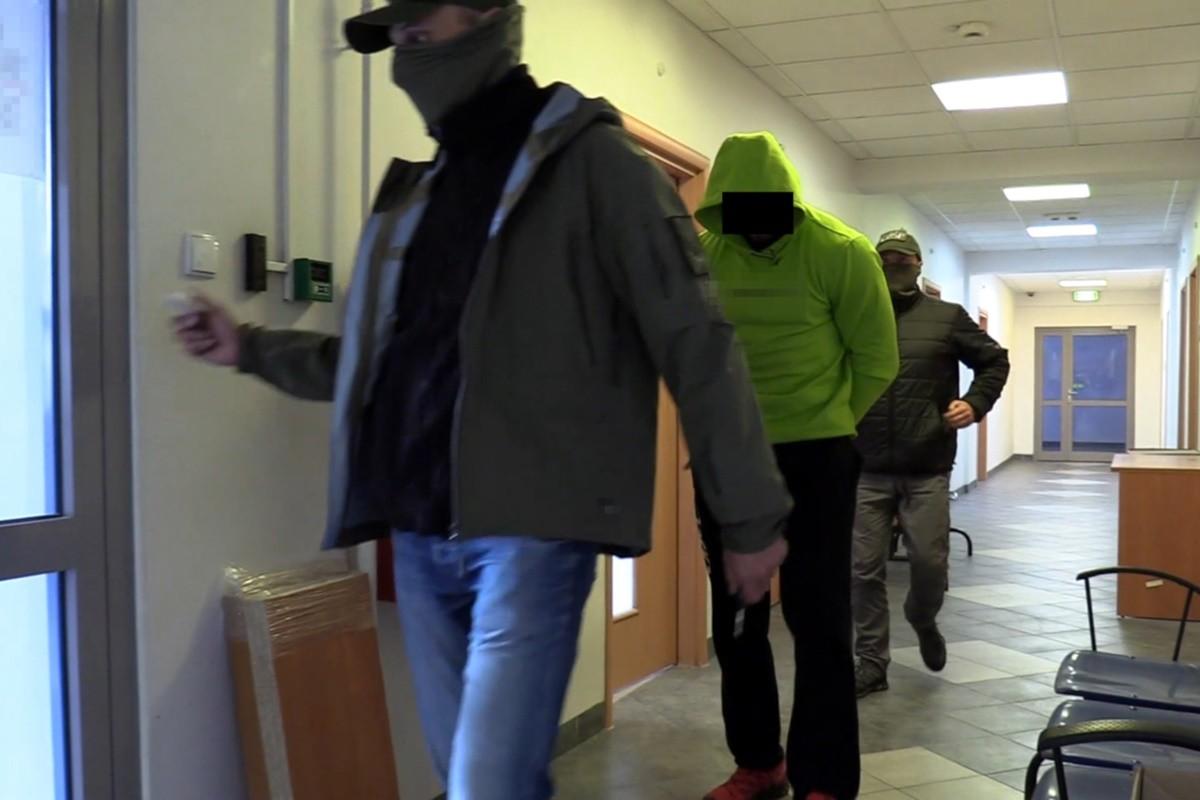 zatrzymanie członków grupy przestępczej_ CBŚP Bydgoszcz (1)