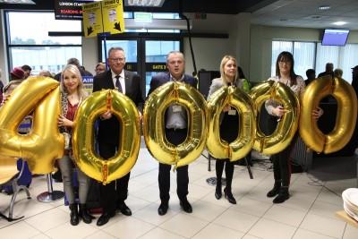 400 tys. pasażer odprawiony w Porcie Lotniczym Bydgoszcz_ SF
