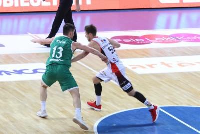 I liga koszykarzy_ Enea Astoria Bydgoszcz-FutureNet Śląsk Wrocław_ Artego Arena Bydgoszcz_ Marcin Nowakowski-Norbert Kulon_ SF