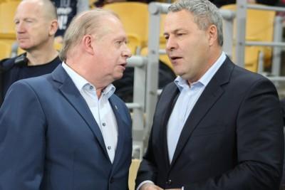 Jerzy Kanclerz (prezes Polonii Bydgoszcz), Rafał Bruski (prezydent Bydgoszczy)_ SF