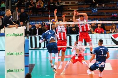 PlusLiga_ Asseco Resovia Rzeszów-Chemik Bydgoszcz_ RCSW Podpromie_ Nikola Kovacević - Łukasz Kozub, David Smith_ SF