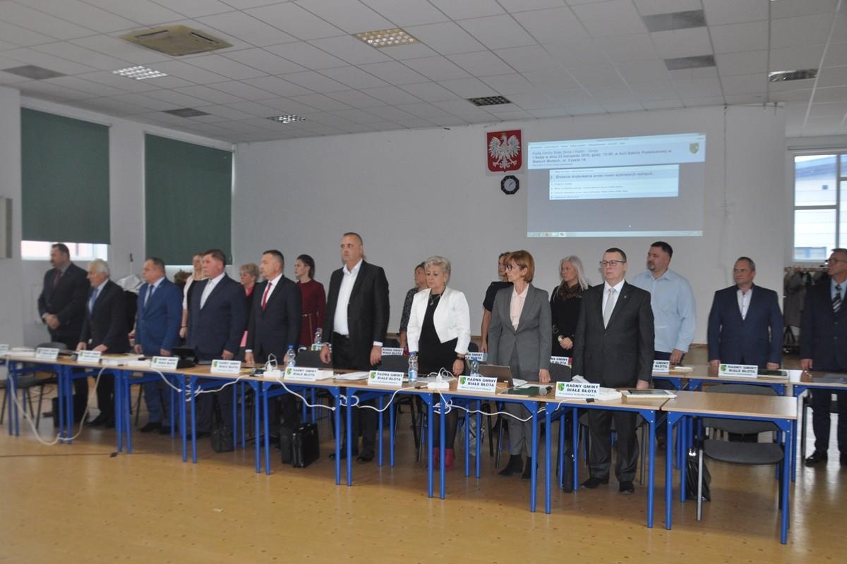 Sesja Rady Gminy Białe Błota_ SF