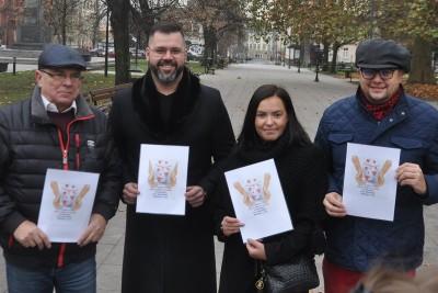 Zbigniew Welenc, Wiktor Michalski, Aurelia Ratajczak, Ireneusz Nitkiewicz, ciepło serca w słoiku, sld bydgoszcz - BB