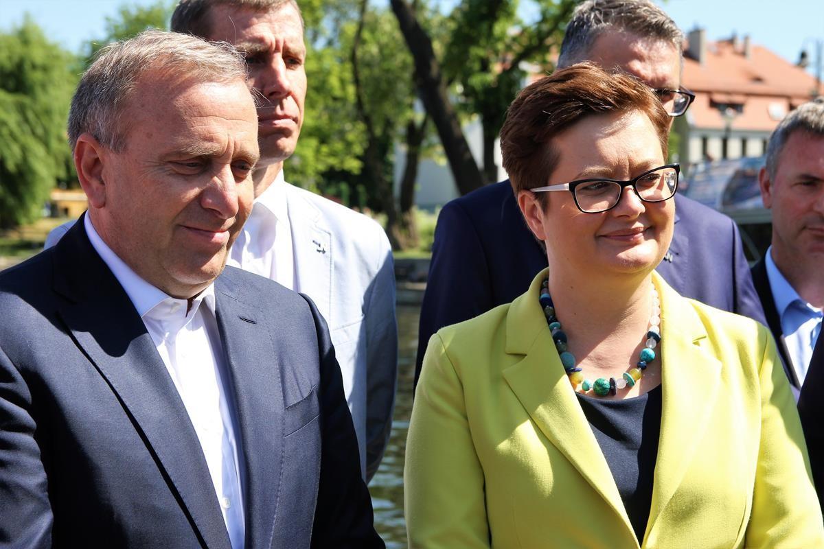 Grzegorz Schetyna Katarzyna Lubnauer Bydgoszcz