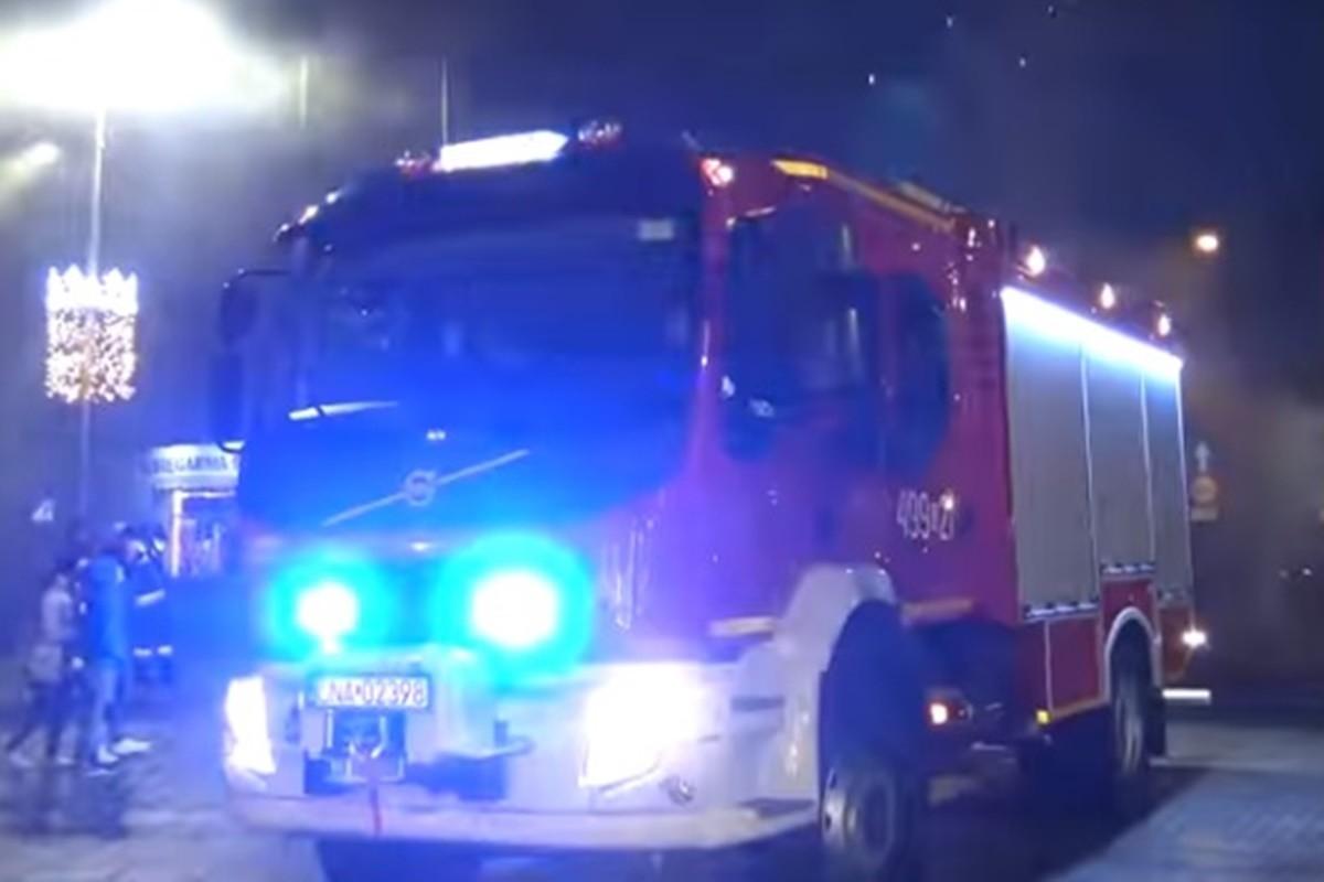 nowy wóz straży pożarnej_ OSP Szubin_ MR