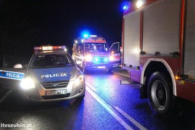 policja, straż pożarna, ambulans_ na sygnale - MR