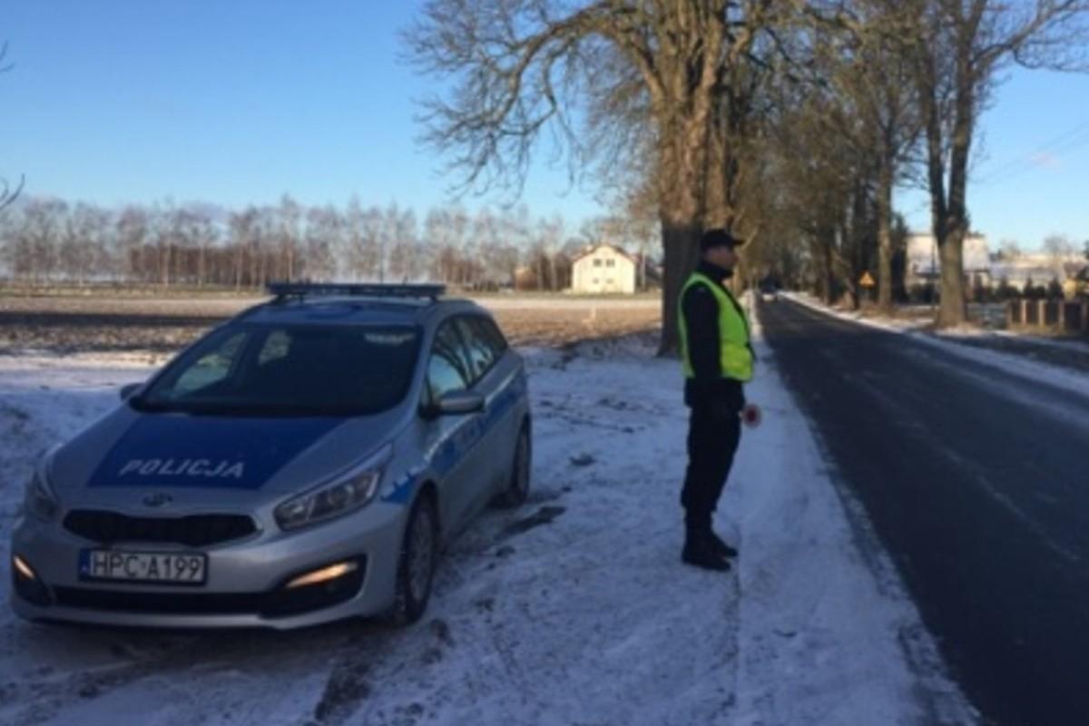 policja_ na sygnale - KPP Świecie