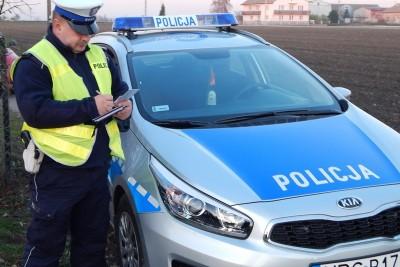 policja_ na sygnale - KPP Radziejów