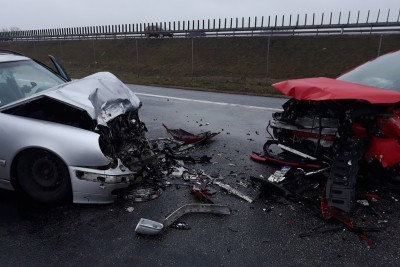 wypadek_ DK91 Bródnowo (pow. aleksandrowski)_ KPP Aleksandrów Kujawski