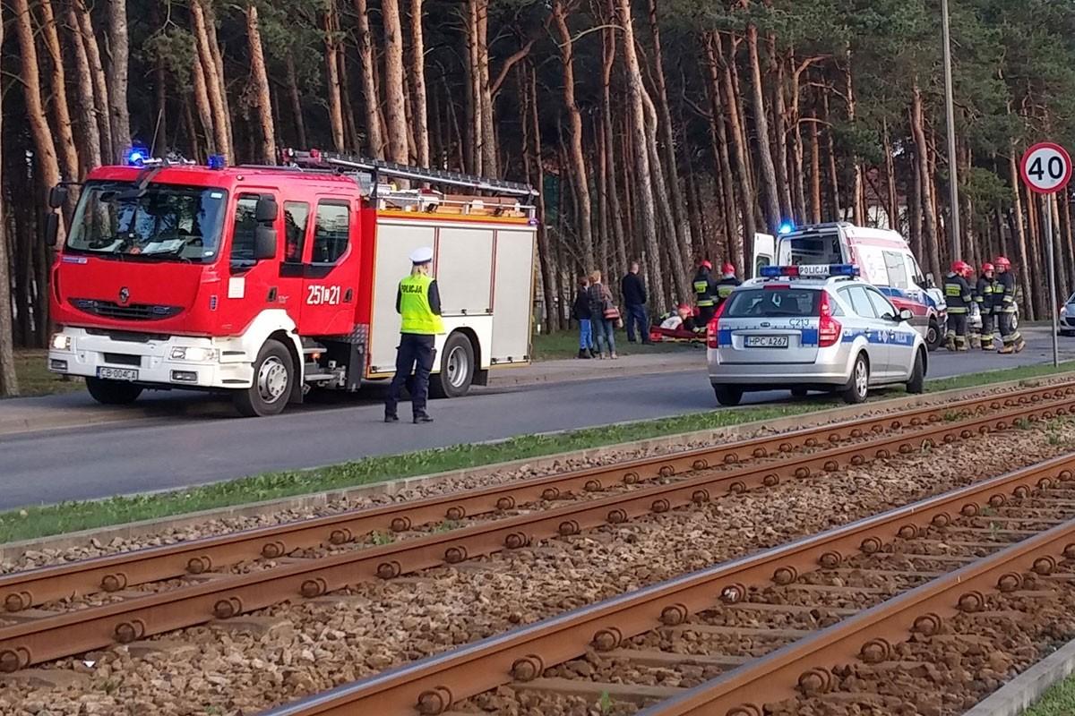 wypadek Szpitalna Bydgoszcz