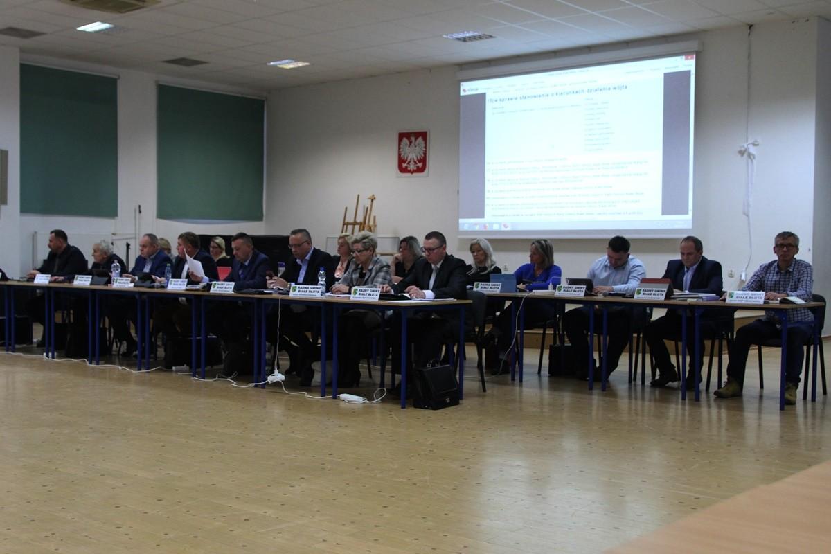 29-01-2019  Sesja Rady Gminy Białe Błota - SF