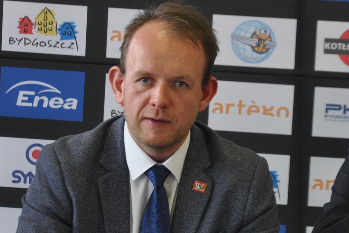 Bartłomiej Dzedzej - prezes Enea Astorii Bydgoszcz_ SF