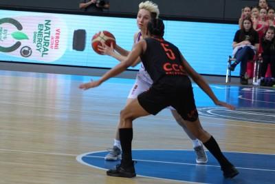 Energa Basket Liga Kobiet_ Artego Bydgoszcz - CCC Polkowice_ Julie McBride - Jasmine Thomas_ SF