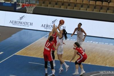 FIBA EuroCup_ Artego Bydgoszcz - CEZ Basketball Nymburk_ Dragana Stanković - SF