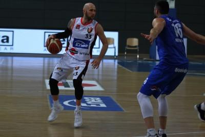 I liga koszykówki_ Enea Astoria Bydgoszcz - Energa Kotwica Kołobrzeg_ Grzegorz Kukiełka - SF