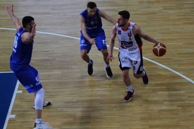 I liga koszykarzy_ Enea Astoria Bydgoszcz - Energa Kotwica Kołobrzeg_ Michał Aleksandrowicz - SF