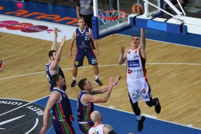 I liga koszykarzy_ Enea Astoria Bydgoszcz - Księżak Syntex Łowicz_ Mikołaj Grod _ SF
