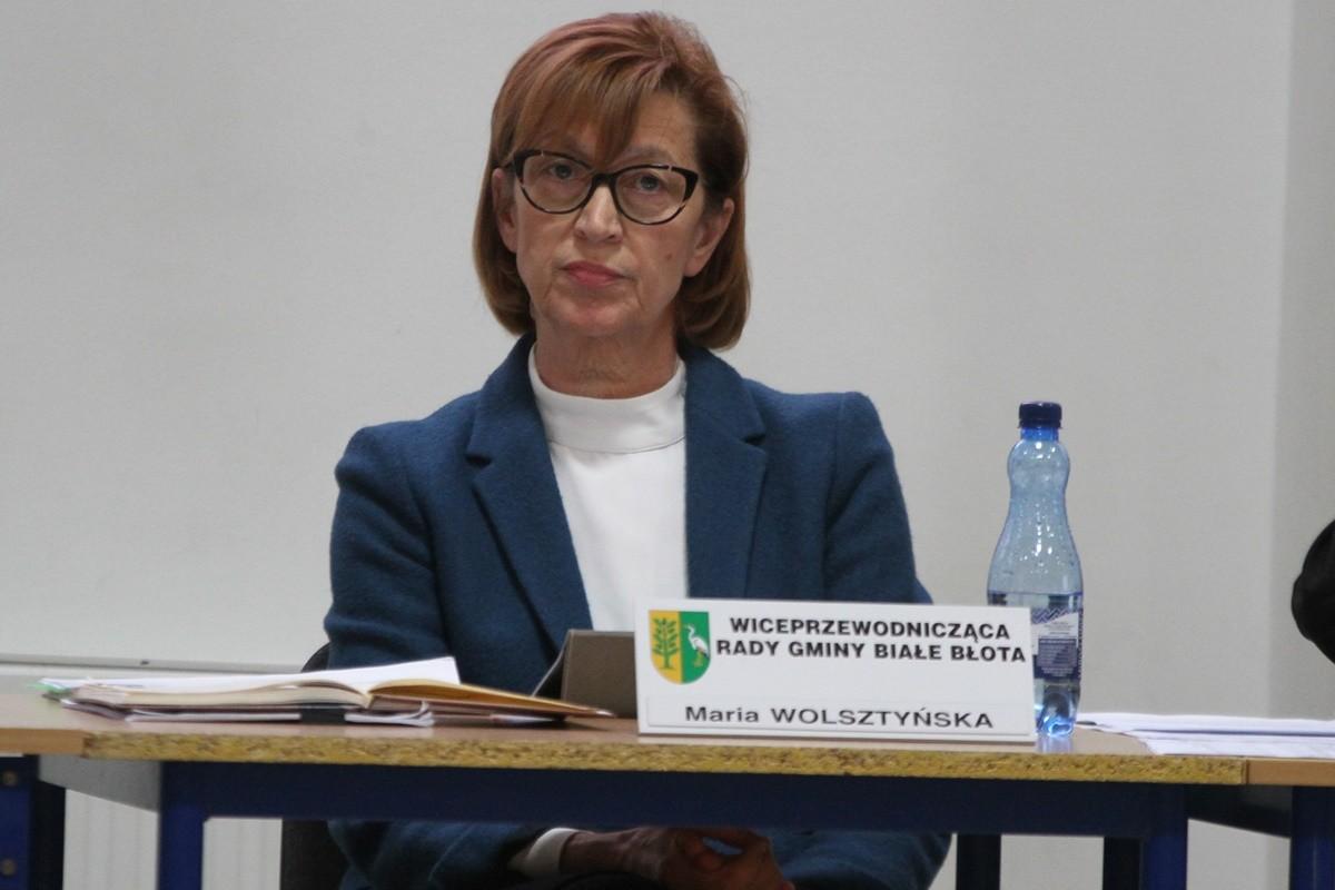 Maria Wolsztyńska - wiceprzewodnicząca rady gminy Białe Błota - SF