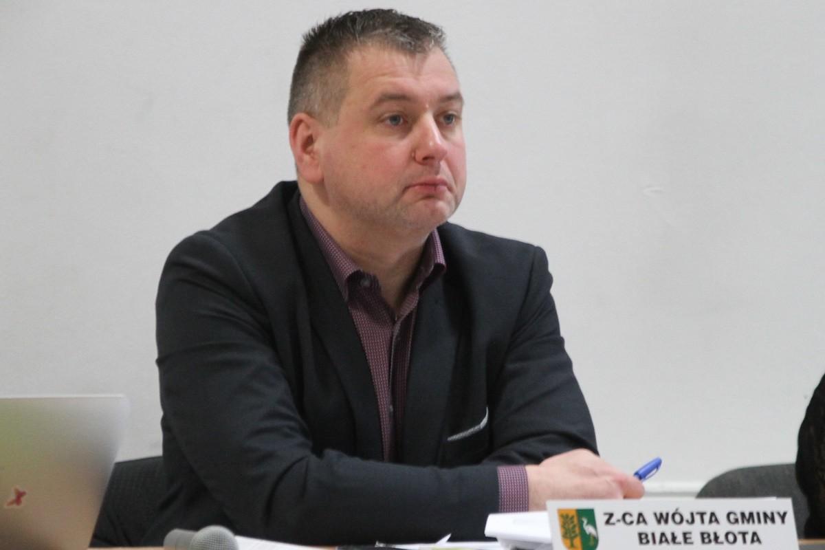 Mariusz Dolewski - zastępca wójta gminy Białe Błota - SF