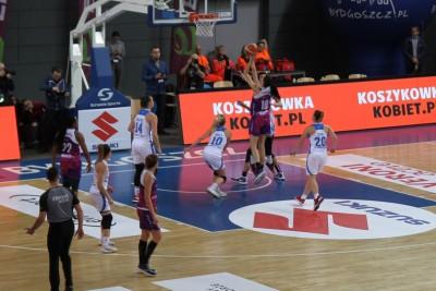 Suzuki Puchar Polski Koszykarek - ćwierćfinał AZS Uniwersytet Gdański - Artego Bydgoszcz_ SF (1)