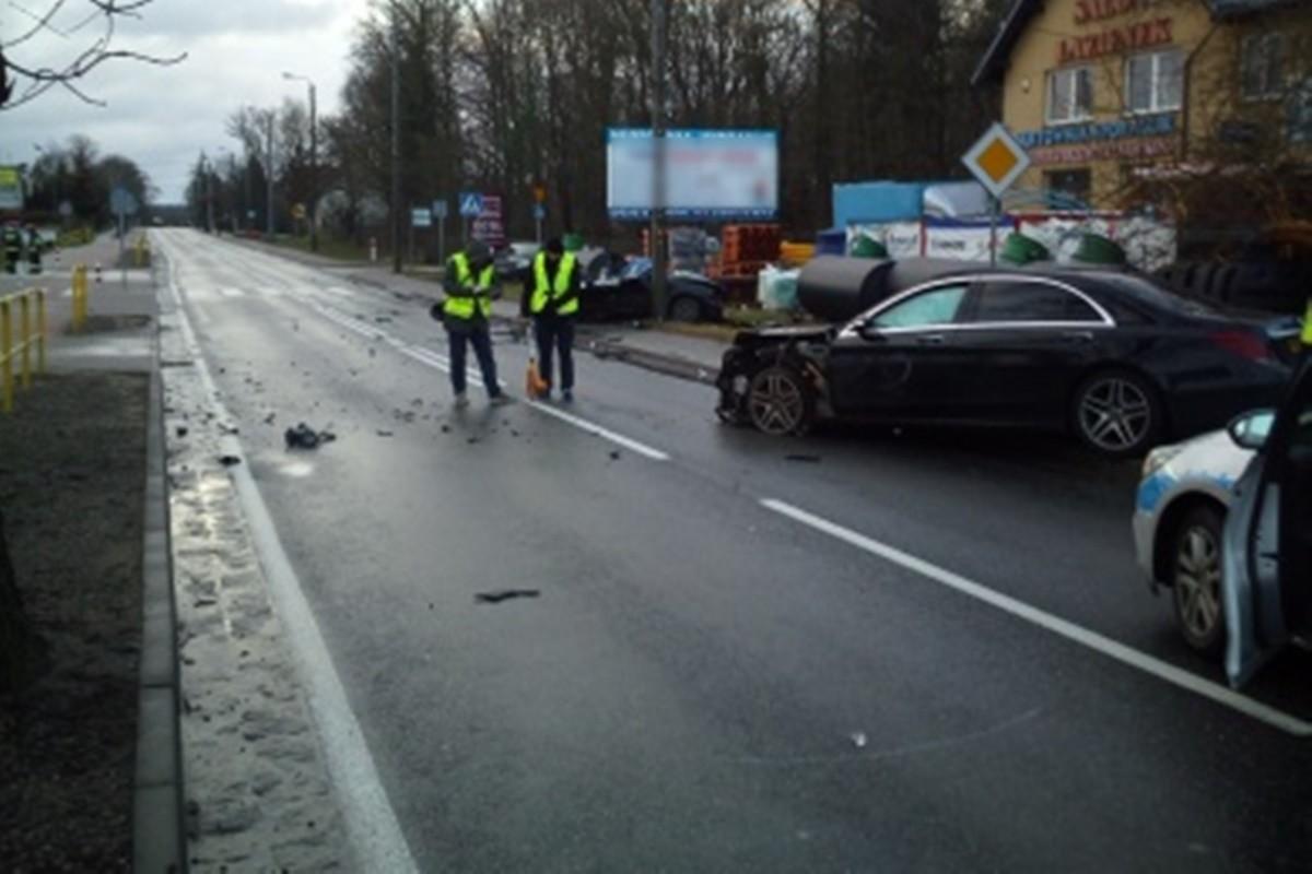 Wypadek_ DK25 Sępólno Krajeńskie_ KPP Sępólno Krajeńskie (1)
