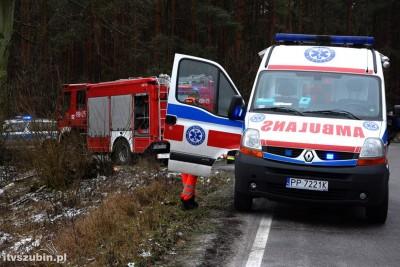 ambulans, straż pożarna_ na sygnale - MR