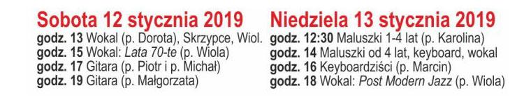 koncerty WOŚP 2019 Bydgoszcz