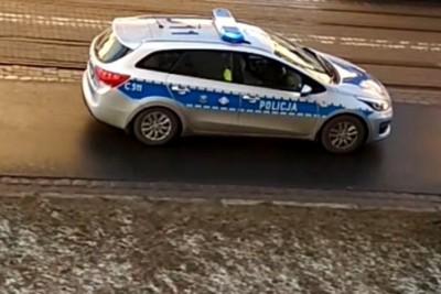 policja_ na sygnale - KPP Grudziądz