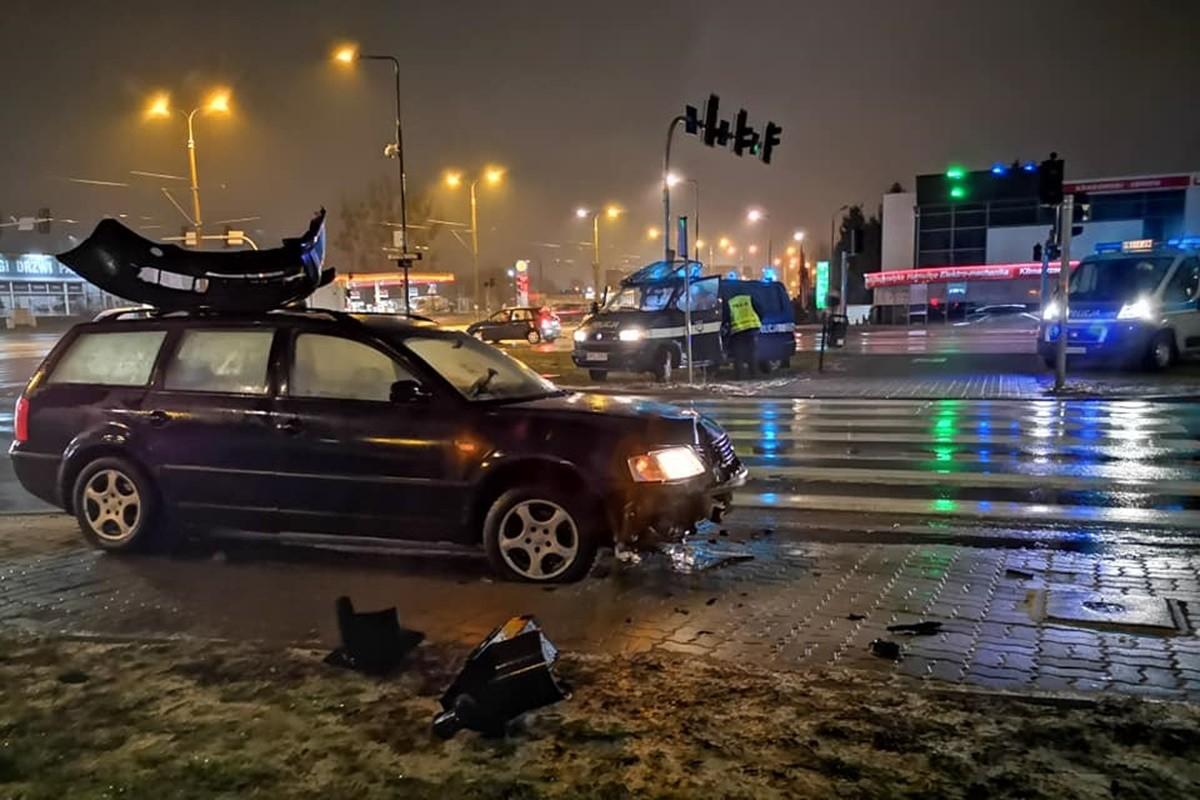 wypadek fordońska-łęczycka Bydgoszcz_ Pomoc Drogowa Krystian Andruszczenko
