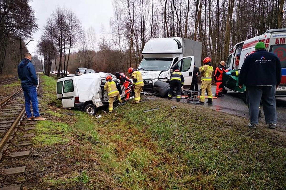 wypadek_ toruńska Bydgoszcz - Pomoc Drogowa Krystian Andruszczenko