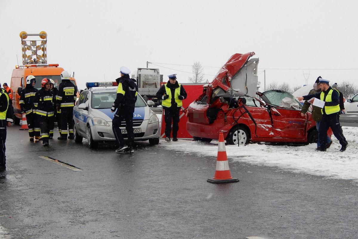 wypadek A1 Włocławek