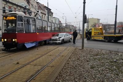 zderzenie, jagiellonska, tramwaj - andruszczenko