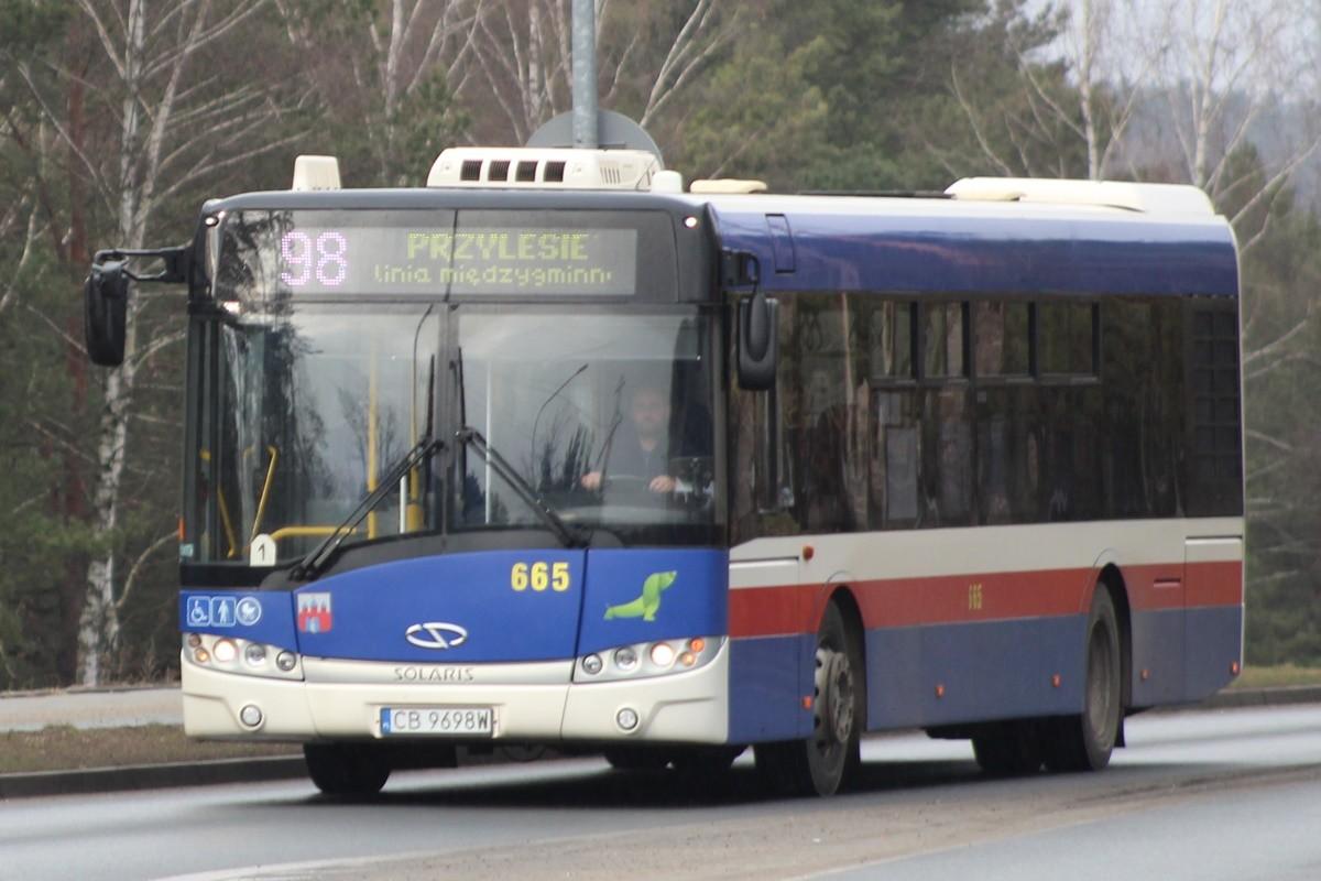 Autobus - linia międzygminna 98 - kierunek Przylesie (przez Bożenkowo)_ JS-1