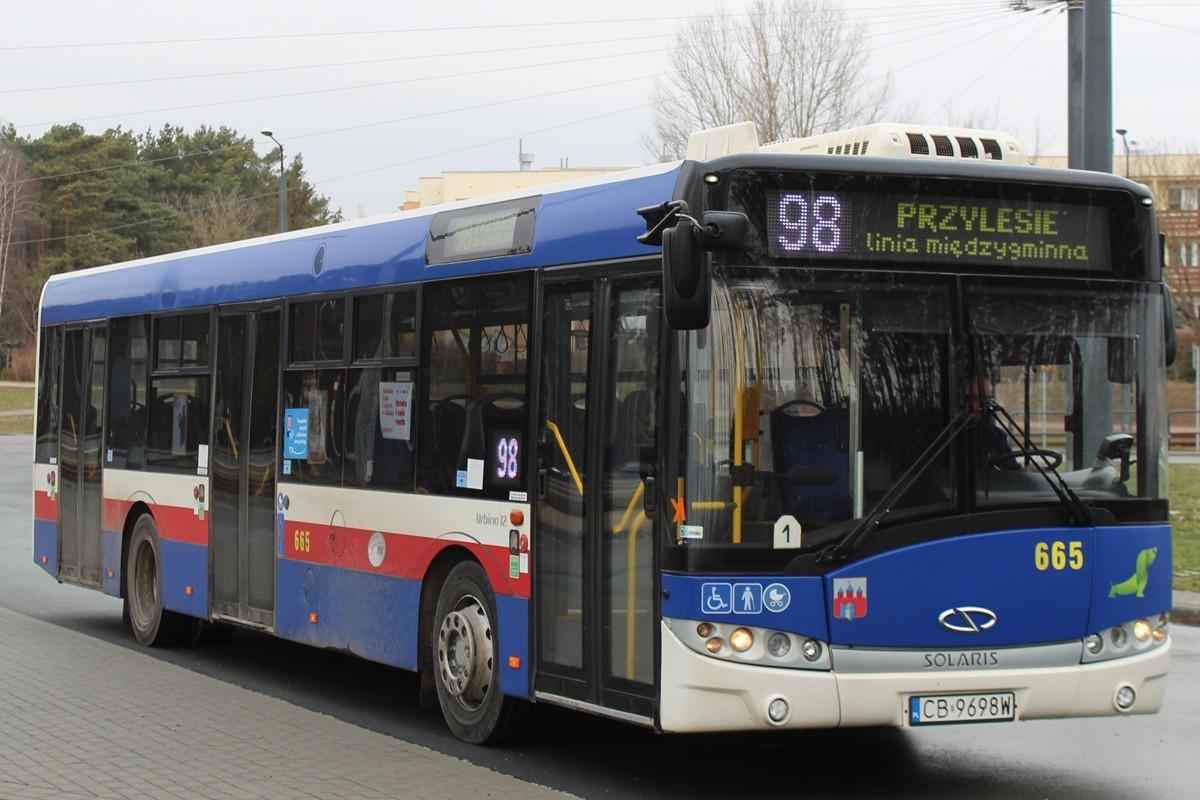 Autobus - linia międzygminna 98 - kierunek Przylesie (przez Bożenkowo)_ JS