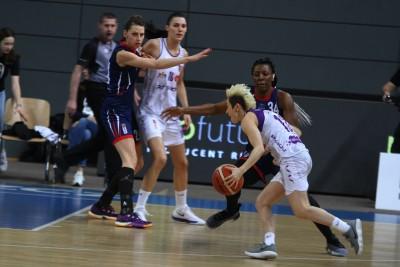Energa Basket Liga Kobiet_ Artego Bydgoszcz - Sunreef Yachts Politechnika Gdańska_ Julie McBride - SF