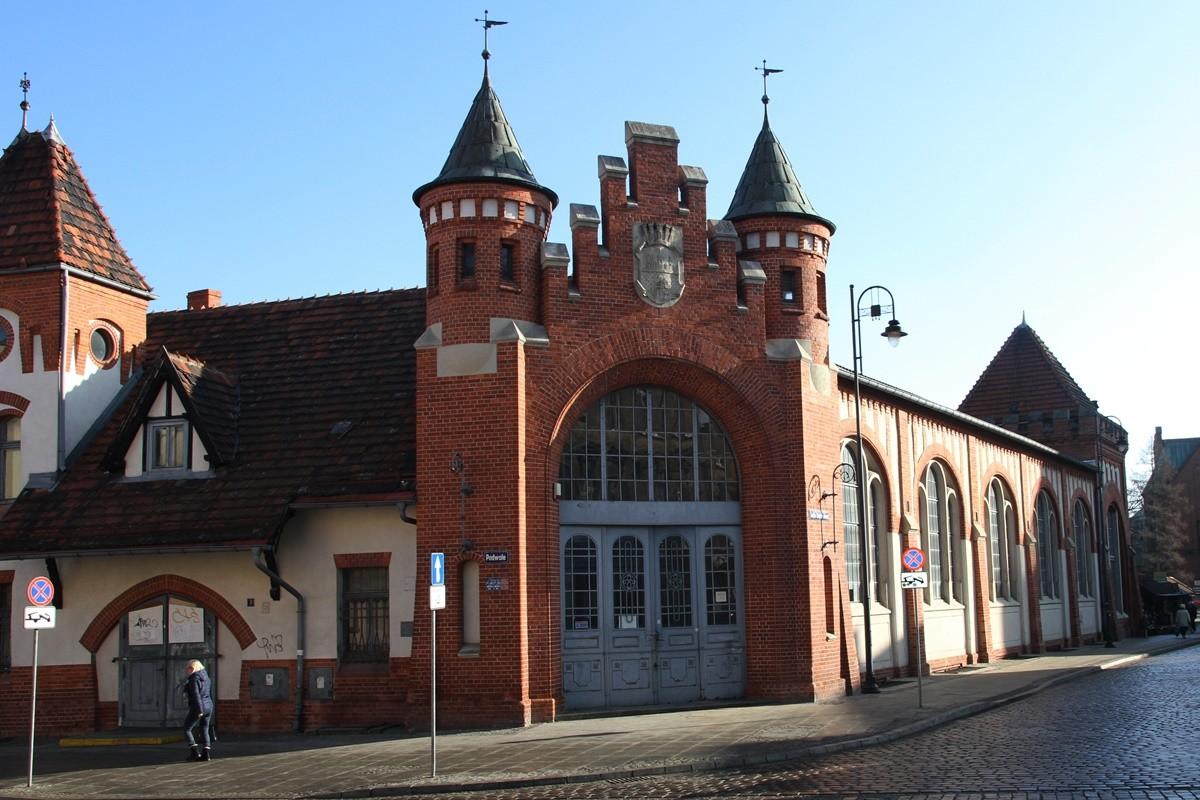 Hala Targowa Bydgoszcz - SF-1