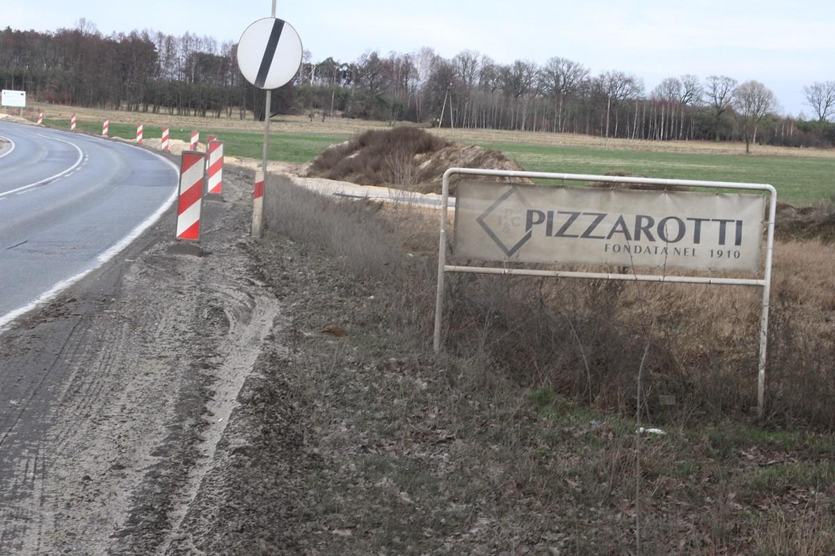 Impresa Pizzarotti - szyld_ budowa drogi S5_odcinek Białe Błota - Szubin_ SF (1)