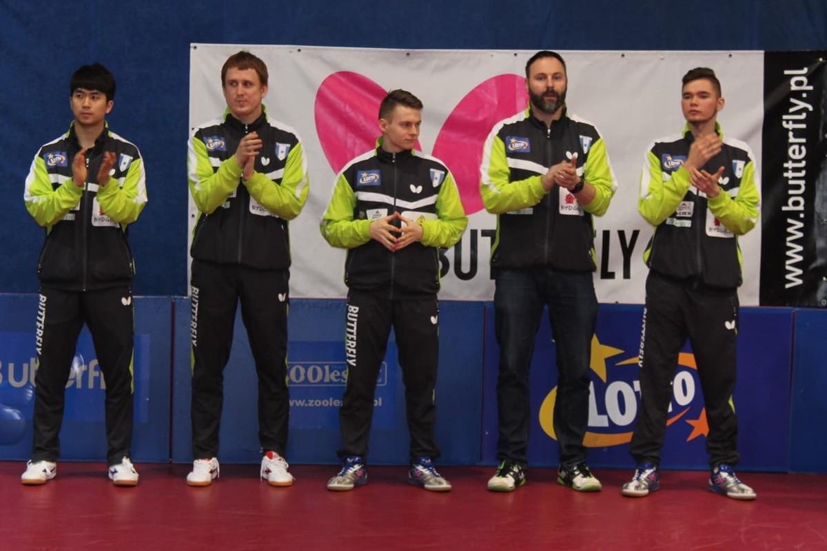 Lotto Superliga Tenisa Stołowego_ Zooleszcz Lotto Gwiazda Bydgoszcz - JS