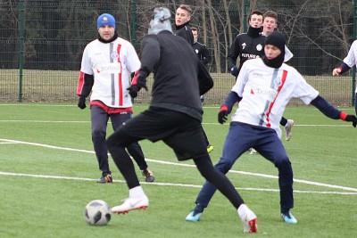 Mecz sparingowy Budowlany KS Bydgoszcz - Sportis Social Football Club Łochowo_ JS (18)