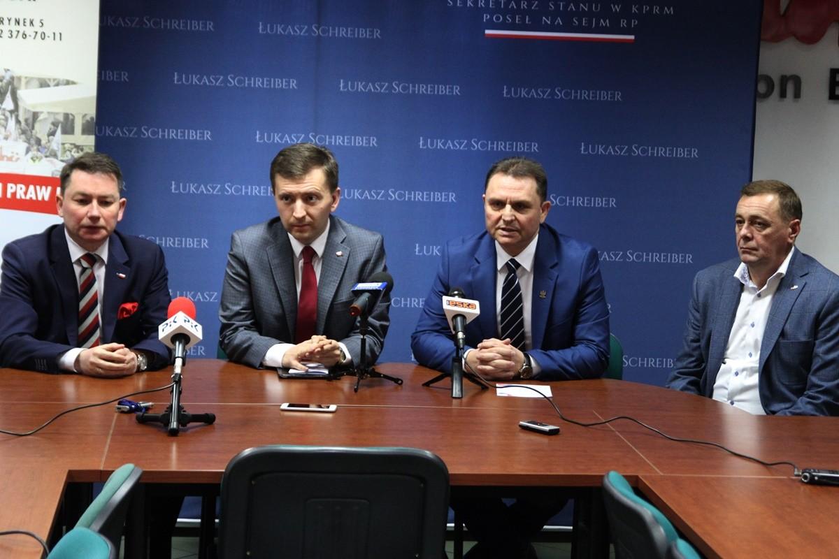 Tomasz Rega, Łukasz Schreiber, Leszek Walczak, Grzegorz Jutrowski - SF