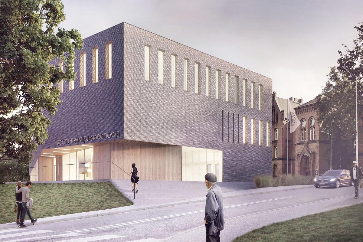 nowy budynek IPN grudziądzka 02